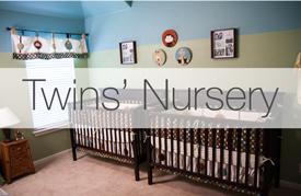 Twin Nursery Interior Design Portfolio